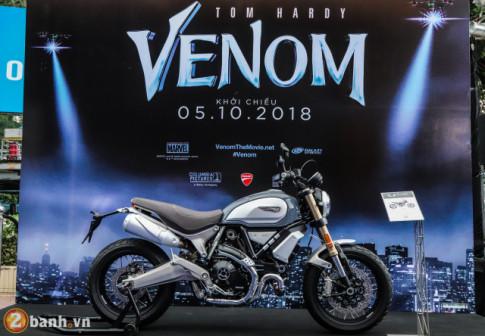 Ducati Scrambler 1100 Special gia tu 448 trieu Dong xuat hien trong ngay ra mat phim Venom