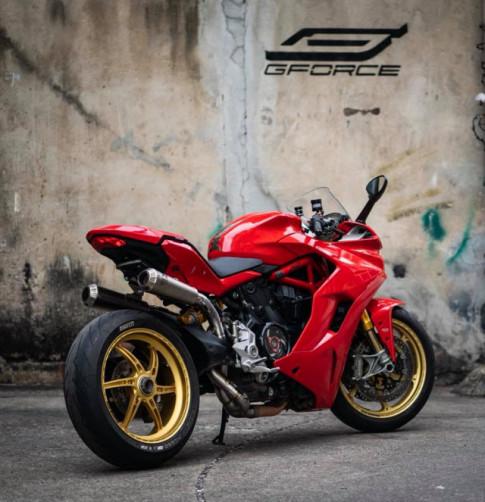 Ducati SuperSport 939S độ hào nhoáng với phong cách Superbike
