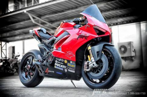Ducati V4S Panigale độ siêu tưởng với dàn trang bị khủng khiếp