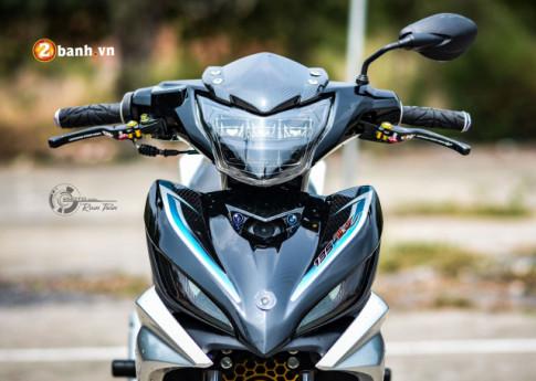 Exciter 135 do hoa than thanh phien ban LC 135 day hap dan cua biker Viet