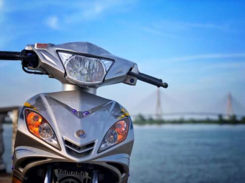 Exciter 135 độ tuyệt đẹp lung linh với phong cách siêu nhân bạc cứng cáp