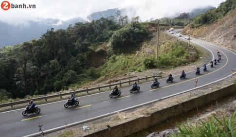 Exciter 150 2019 voi chuyen di Noi Vong Tay Lon dai 3.500 km