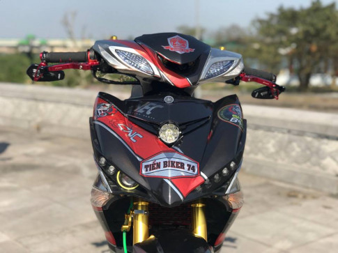 Exciter 150 do cung cap voi nhieu do choi hap dan cua biker Quang Tri
