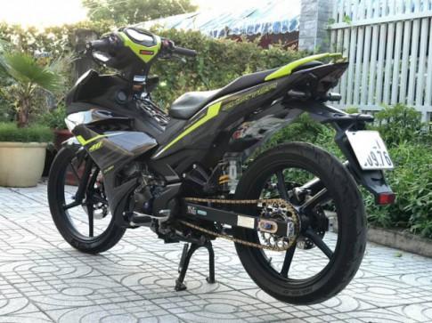 Exciter 150 do don gian nhung van loi cuon nguoi xem cua biker Vung Tau