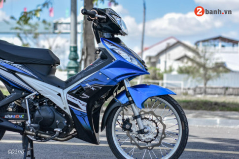 Exciter 2010 độ mang đôi chân yếu mềm độc bước trên đất Việt