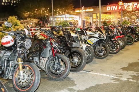 Hàng trăm chiếc PKL đổ về mừng sinh nhật lần II CLB Moto Family
