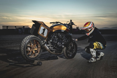 Honda CB1000R do an tuong voi phong cach Dirt Tracker