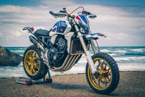 Honda CB1000R độ cực chất theo phong cách Flat - Tracker đến từ BRIVEMO