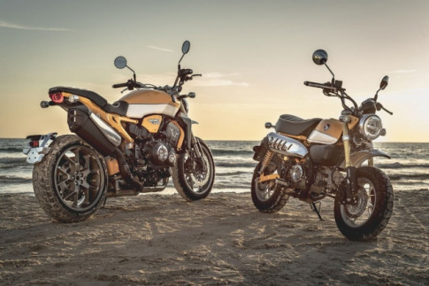 Honda CB1000R do hap dan theo style Monkey-Kong tu dan em Monkey 125
