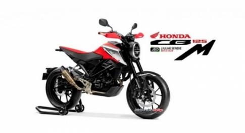 Honda CB125M lộ diện hình ảnh thiết kế hoàn toàn mới