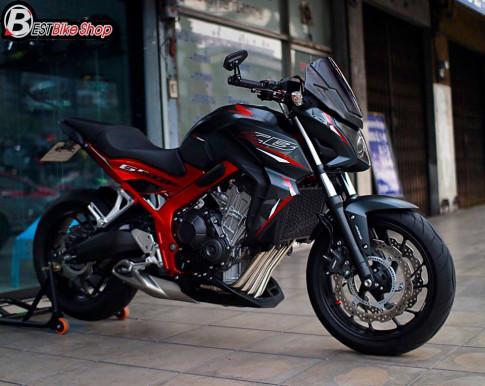 Honda CB650F nhe nhang day suc thuyet phuc tu doi mat 'quy than'