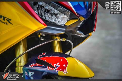 Honda CBR1000RR độ siêu ngầu với diện mạo Redbull từ WSBK