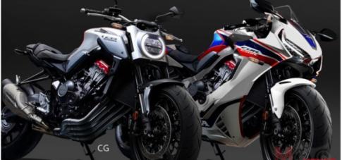 Honda CBR650F du kien sua doi thiet ke 2019 moi?
