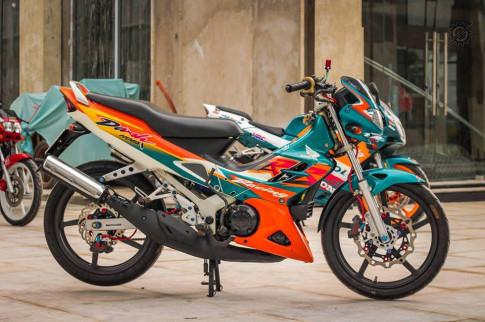 Honda Nova Dash - Dua con cua gio cung loat do choi khung tu Biker mien tay