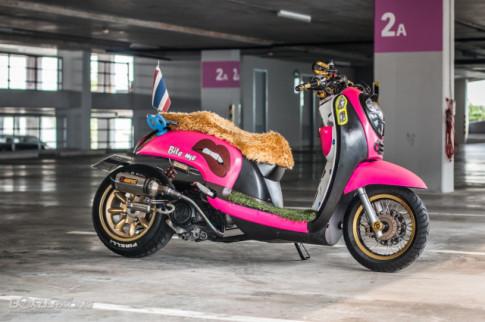 Honda Scoopy do quyen ru voi yen xe long thu danh cho 'quy co'
