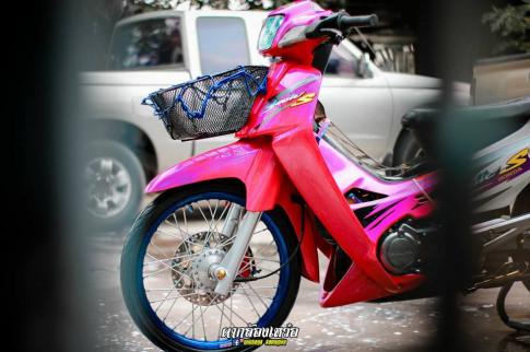 Honda Smile 110 do thuc tinh cong dong xebiz cua biker Thailand