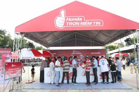 Honda 'Tron Niem Tin 2018' Khong ngung no luc vi su hai long khach hang