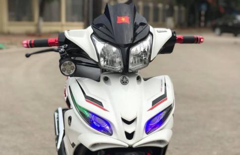 Jupiter độ: sự tiến hóa đầy thành công với dàn chân cơ bắp của biker Nam Định