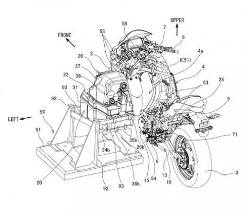 Kawasaki lộ diện bảng thiết kế xe máy điện, dự kiến ra mắt vào cuối năm nay 2019
