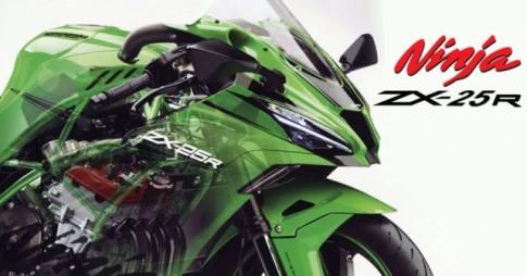 Kawasaki Ninja ZX-25R động cơ 4 xy-lanh, 250cc được tiết lộ giá bán tại Thái Lan
