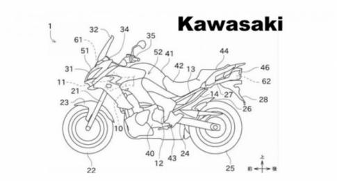 Kawasaki tiet lo bang thiet ke 'He thong cam bien danh cho phanh tu dong'