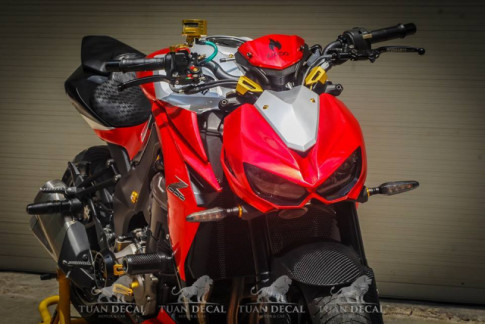 Kawasaki Z1000 độ đầy truyền cảm trên đất Việt