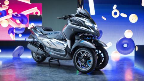 Lộ diện Yamaha 3CT - Xe tay ga ba bánh 300cc dự kiến sẽ ra mắt trong năm 2019