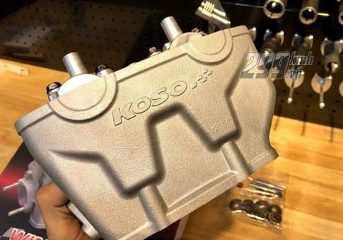 Mở hộp, trên tay đầu bò Koso sutbap 22 25 cho xe Honda Winner, Sonic