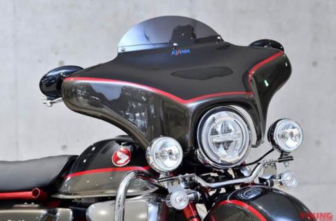 Monkey 125 do phong cach Harley-Davidson dau tien tren the gioi