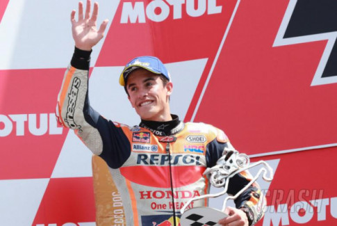 [MotoGP 2019] Marquez khong mang thang thua tai Assen, chi can gia tang loi the cho chuc vo dich