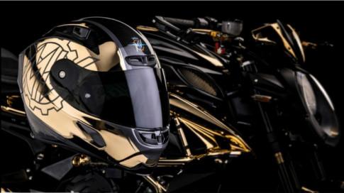 MV Agusta Dragster 800 RC Shining Gold phiên bản đặc biệt với số lượng giới hạn