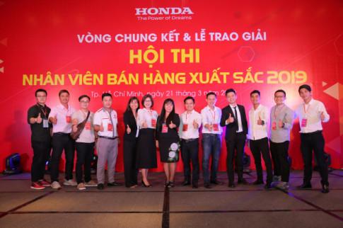 Nhìn lại Cuộc thi 'Nhân viên bán hàng xuất sắc 2019' vì khách hàng của Honda Việt Nam