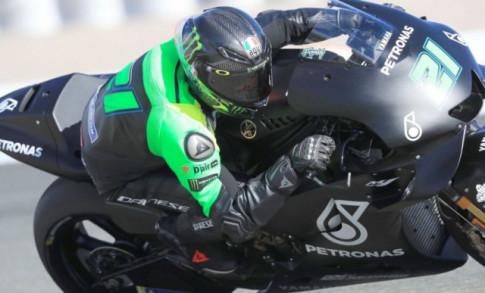 Nhung hinh anh dau tien cua M1 2019 cua doi dua Petronas Yamaha SIC Racing Team