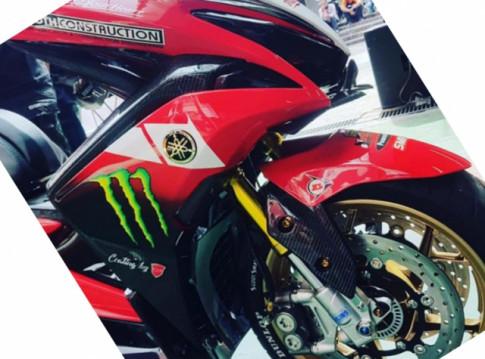 NVX 155 ban nang cap an tuong voi he thong phuoc mo phong Ducati