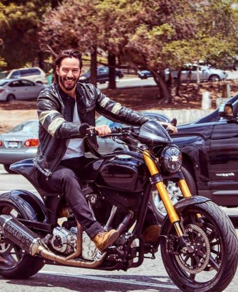 Ông kẹ 'Baba Yaga' Keanu Revees cùng niềm đam mê xe mô tô PKL