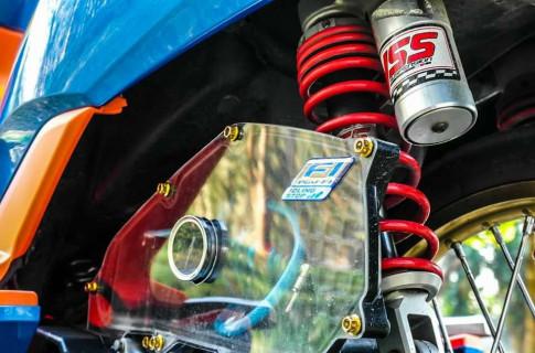 PCX 150 độ Drag với loạt đồ chơi mang góc nhìn công nghệ