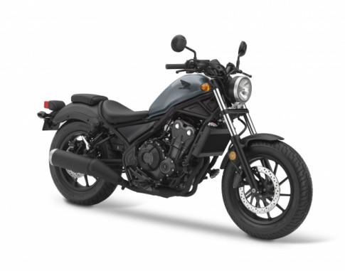 Rebel 500 2019 hoàn thiện hơn với 2 bổ sung mới, giá không thay đổi
