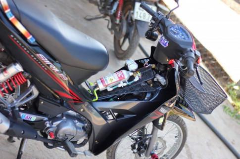 Sirius 110 do hoi tho toc do cua biker Krong Pak