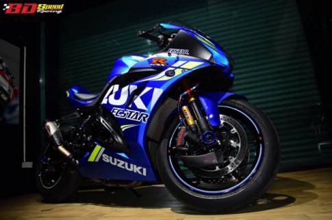 Suzuki GSX-R1000 chan dung ban do chat choi den tu BD Speed Racing