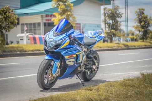 Suzuki GSX-R1000 ve dep nuc no cua huyen thoai 'Ca heo' nha Suzuki