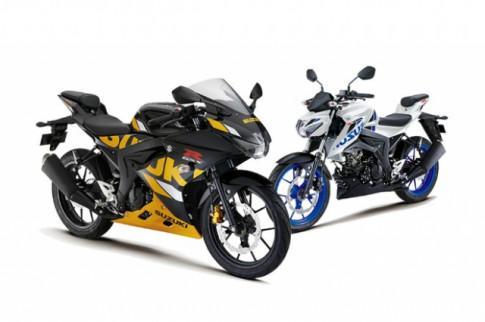Suzuki GSX-S150 và GSX-R150 ABS 2019 với diện mạo mới đậm chất thể thao