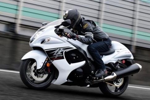 Suzuki Hayabusa New phat trien he thong truyen dong ban tu dong??