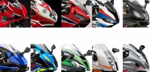 Tong hop 10 nam thay doi 2009-2019 cua nhung guong mat Superbike hot nhat hien nay
