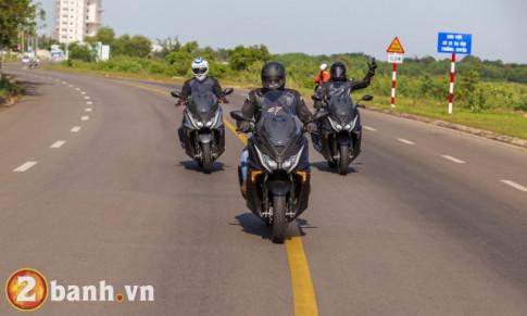 Trải nghiệm Kymco AK550 trong cuộc hành trình 1.000 km từ Sài Gòn đến Đà Nẵng