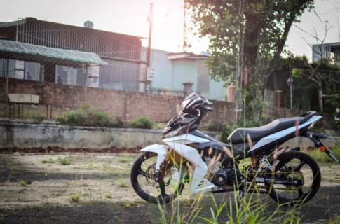 Winner 150 do cuc chat mang net dep hoang da cua biker pho nui