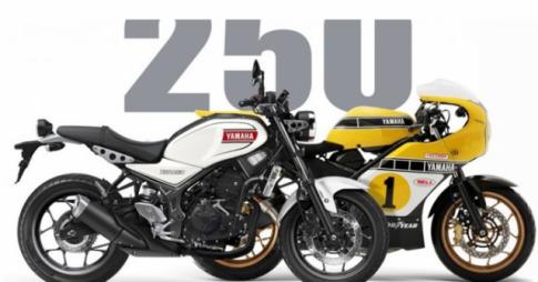 Yamaha du kien ra mat nguoi anh em song sinh cua MT-25 la Neo-Classic XSR250