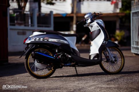 Yamaha Fino - Chiec xe tay ga day suc quyen ru voi nang cap day gia tri