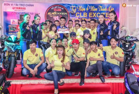 Yamaha Motor VN đồng hành cùng sinh nhật CLB Exciter Tân Thành BRVT lần IV