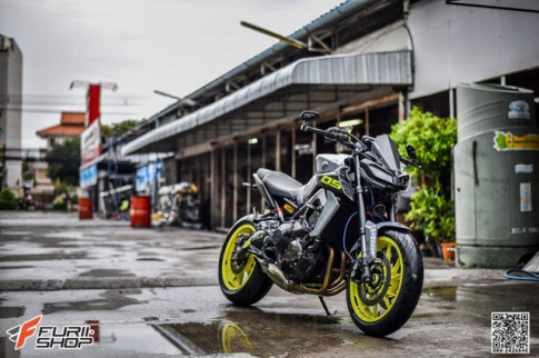 Yamaha MT-09 nang cap kha tuoi tan tren dat Thai
