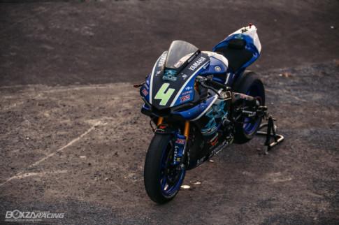 Yamaha R1 do chat choi me hoac nguoi nhin voi phong cach Racing